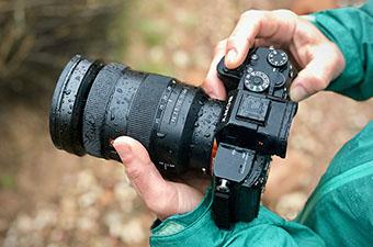 Weather-Sealed Mirrorless Camera