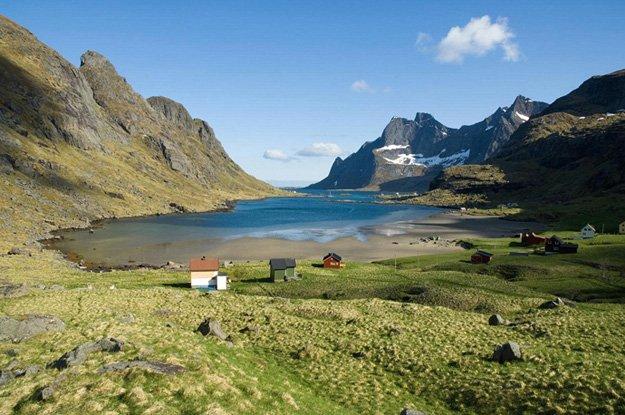 Bunesfjorden, Lofoten Islands