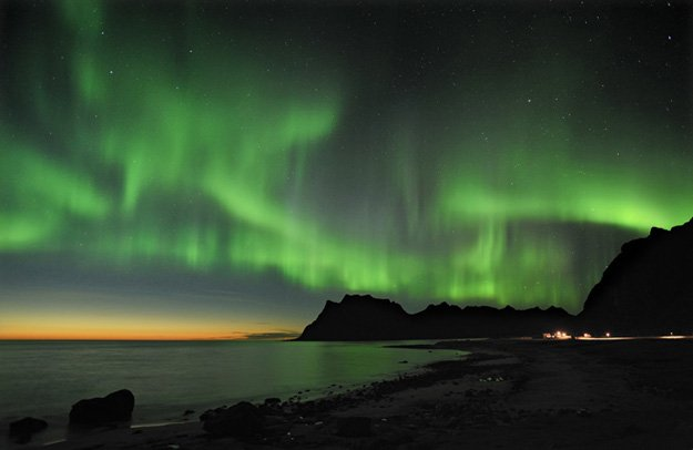 Northern Lights, Lofoten Islands