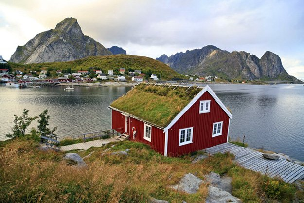 Reine Rorbuer, Lofoten Islands