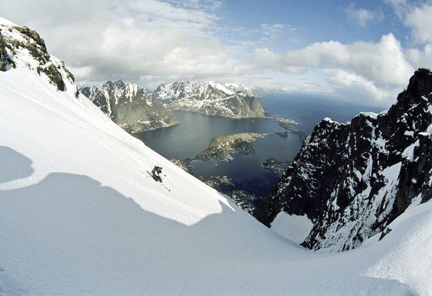 Lofoten Islands Skiing