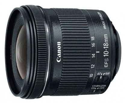 Canon 10-18mm lens