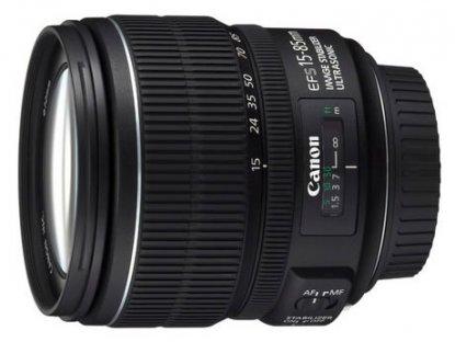 Canon 15-85mm lens