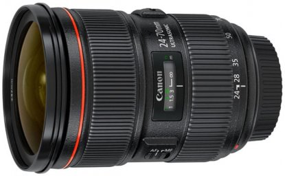 Canon 24-70mm f2.8 EF lens