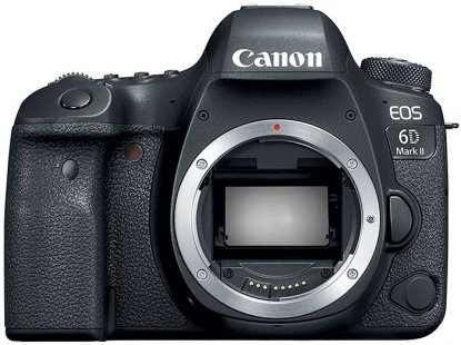 Canon 6D Mark II DSLR camera