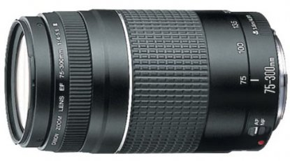 Canon 75-300mm f:4-5.6 III lens
