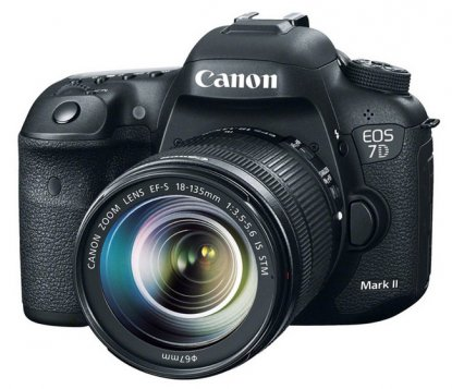 Canon EOS 7D Mark II camera
