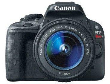 Canon Rebel SL1 DSLR camera
