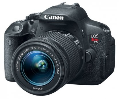 Canon Rebel T5i DSLR camera