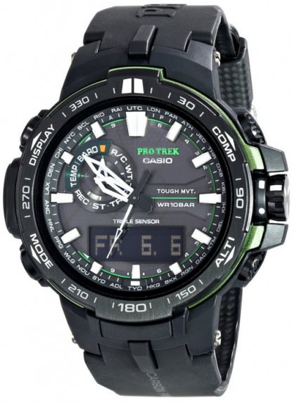 Casio PRW6000Y-1A altimeter watch