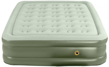 coleman supportrest double high airbed 55