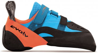 Evolv Shaman rock climbing shoes