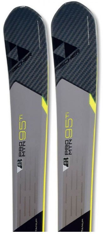 Fischer Pro Mtn 95 Ti all-mountain skis