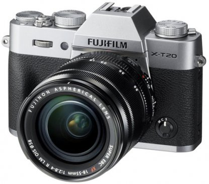fujifilm x t20 mirrorless camera