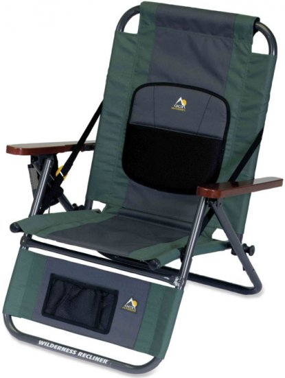 GCI Outdoor Wilderness Recliner camp chair