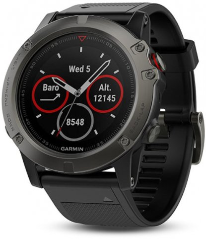 Garmin Fenix 5X ABC watch