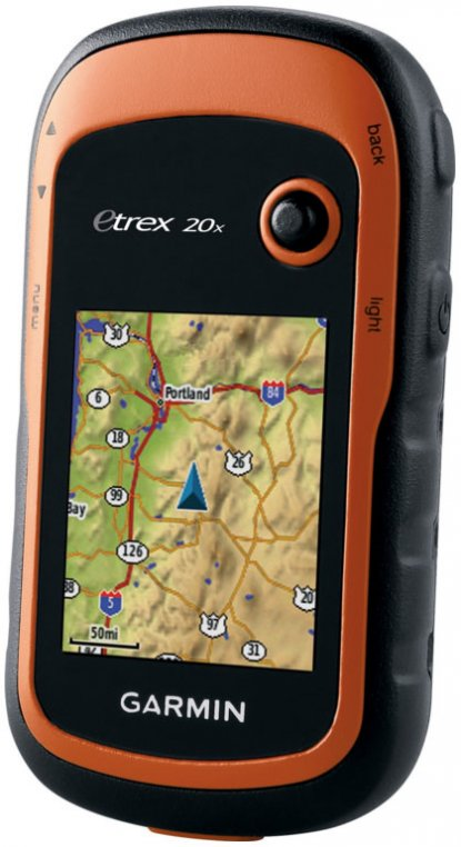 Garmin eTrex 20x handheld GPS devices