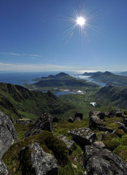 Hiking Lofoten - Justaltinden