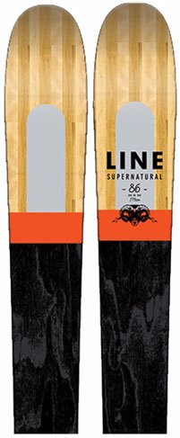 Line Supernatural 86 all-mountain skis