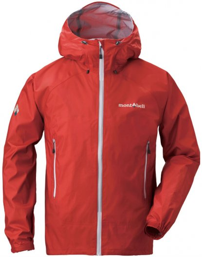 Montbell Peak Shell rain jacket