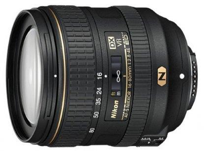 Lente Nikon de 16-80 mm