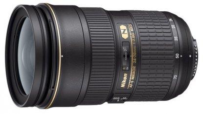 Lente Nikon de 24-70 mm