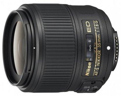 Objetivo Nikon 35 mm f1.8 FX