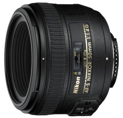 Objetivo Nikon de 50 mm f1.4