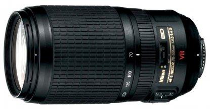 Objetivo Nikon de 70-300 mm