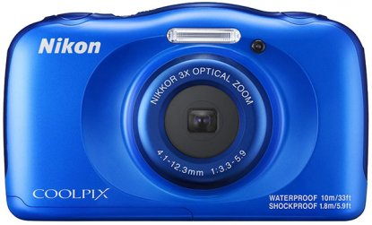 Nikon W100 waterproof camera