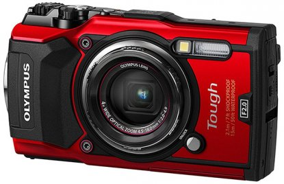 Olympus TG-5 point-and-shoot camera