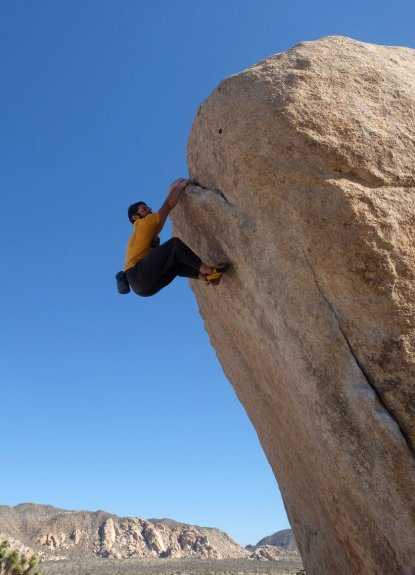Rock Climbing Joshua Tree