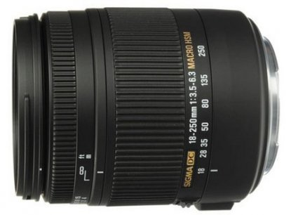 Sigma 18-250mm lens for Canon
