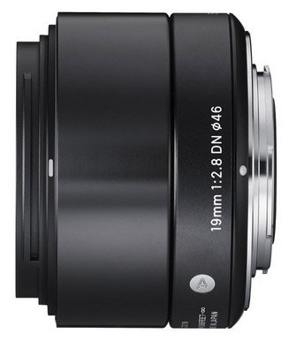 Sigma 19mm E-mount lens