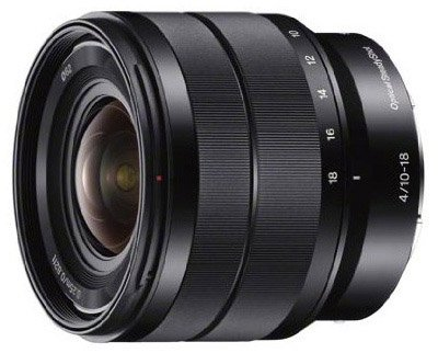 Sony 10-18mm E-mount lens