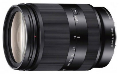 Sony 18-200mm E-mount lens