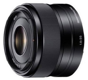 Sony 35mm E-mount lens