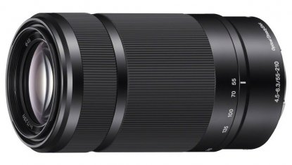 Sony 55-210mm E-mount lens