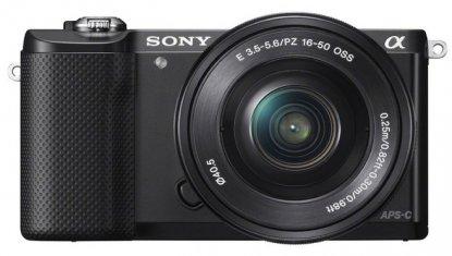 Sony Alpha a5000 camera