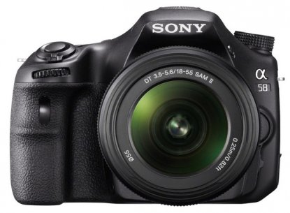 Sony SLT-A58 camera
