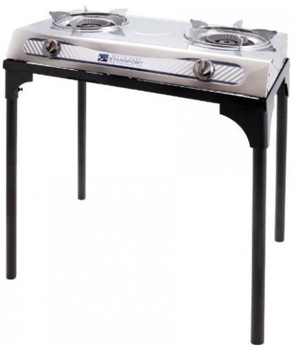 Stansport 2-Burner Stainless Steel stove
