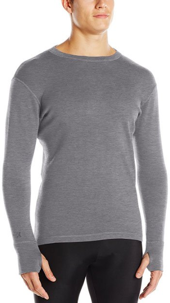 WoolX Glacier LS Heavyweight baselayer