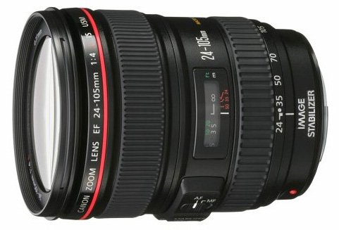 Canon 24-105mm f/4 lens