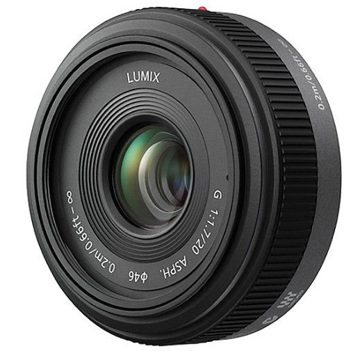 Panasonic Lumix 20mm lens