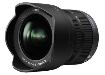 Panasonic Lumix 7-14mm lens