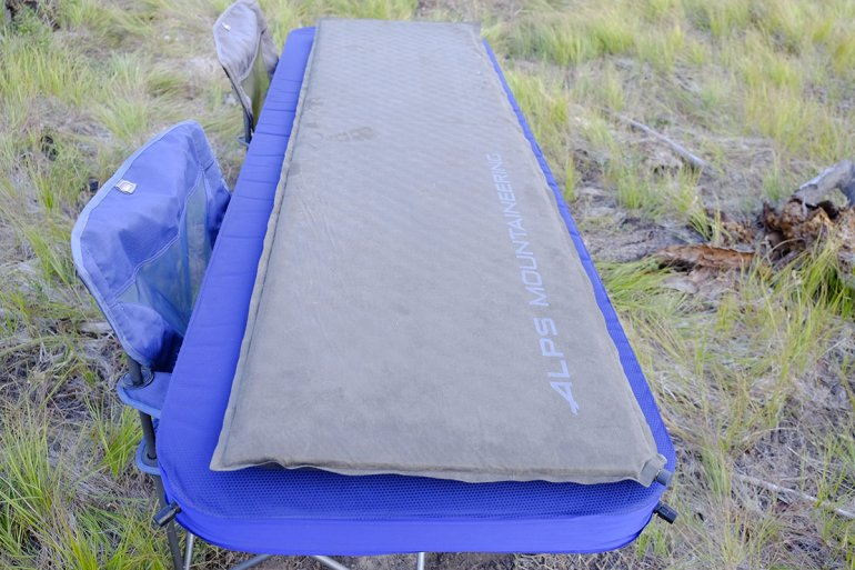 camping mattresses dimensions a large pad below offers increased length and width dimensions than a regular size