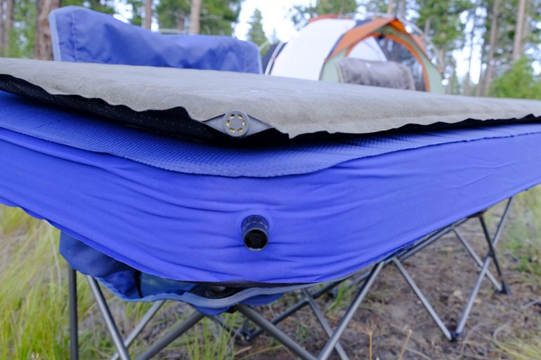 camping mattresses thickness comparison pad thicknesses vary widely and the 4inch mondoking has amazing comfort