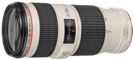 Canon 70-200mm f4 lens
