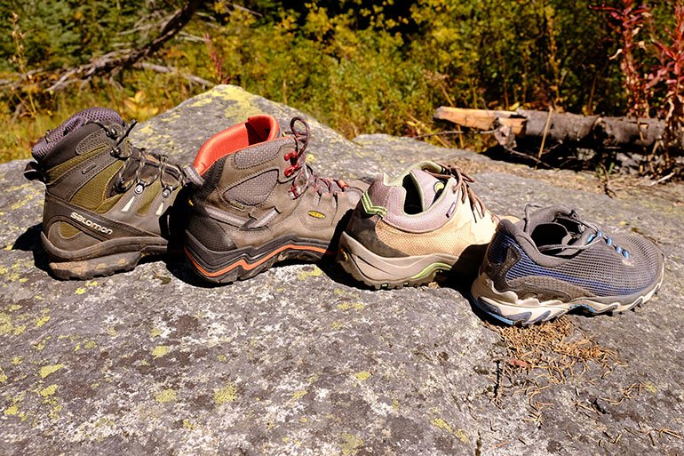 Hiking boots vs. hiking shoes