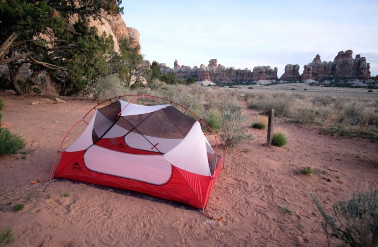 MSR Hubba Hubba NX tent Chesler Park & Review: MSR Hubba Hubba NX | Switchback Travel